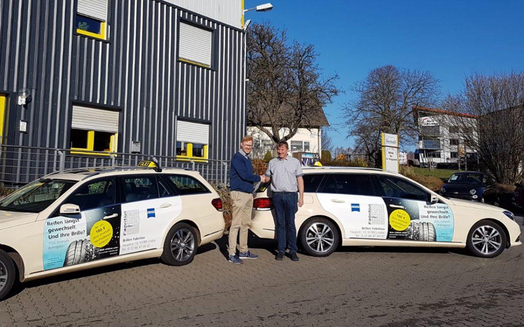 DriveSafe – Sicher fahren mit Brillen Fabritius und Taxi Thelen